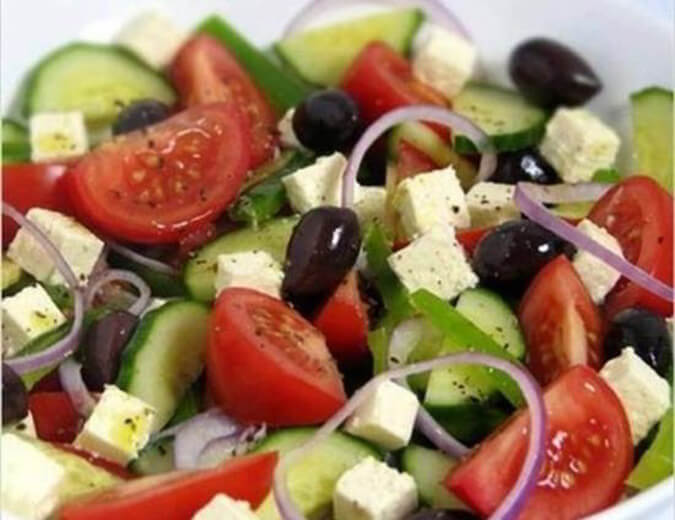 Classic Greek salad recipe, easy and delicious salad online - The ...