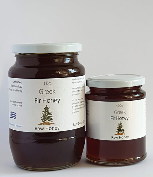 Raw fir tree Honey